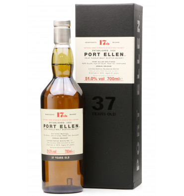 Port Ellen 37 Years Old 1979 - 17th Release