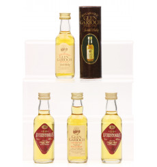 Glen Garioch 10 Years Old & Auchentoshan 8/10 Years Old Miniatures (4x5cl)