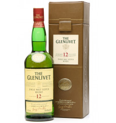 Glenlivet 12 Years Old - Leather Box