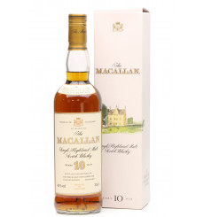 Macallan 10 Years Old - Sherry Wood