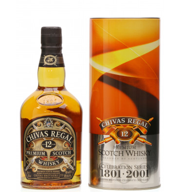 Chivas Regal 12 Years Old - Celebration Series No.7 (1801 - 2001)