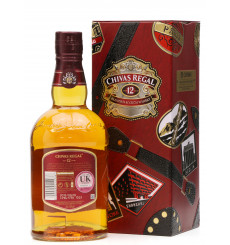 Chivas Regal 12 Years Old - Made For Gentleman Globe-trotter