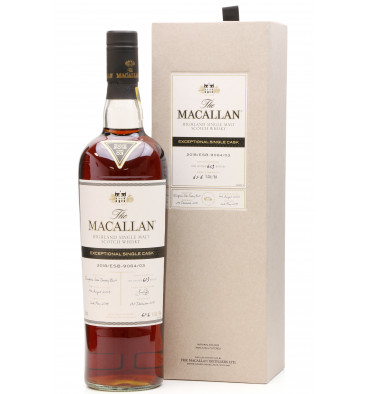Macallan 2003 - 2018 Exceptional Single Cask No.03 (750ml)