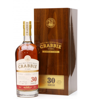 Crabbie 30 Year Old Speyside - Single Cask Limited Edition