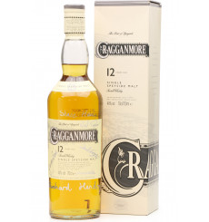 Cragganmore 12 Years Old **Signed Bottle**