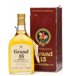 "Highland Queen 15 Years Old - ""Grand 15"" (75.7CL)"