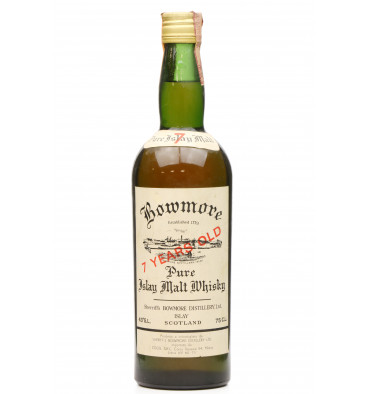Bowmore 7 Years Old - Sherriff's Pure Islay Malt (75cl)
