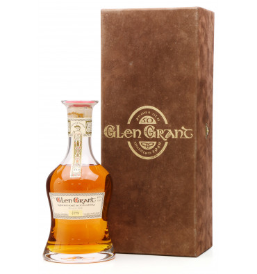 Glen Grant 50 Years Old 1948 - G&M Crystal Decanter