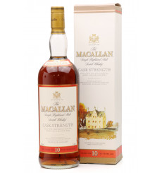 Macallan 10 Years Old - Cask Strength (1 Litre)