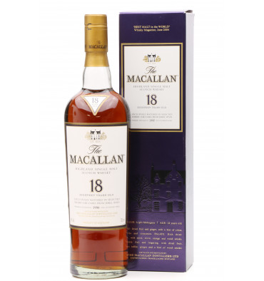 Macallan 18 Years Old 1990