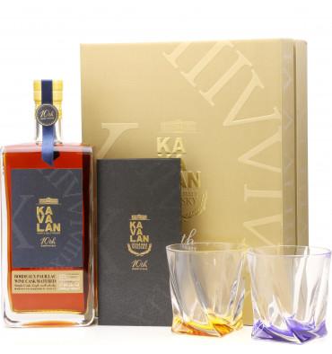 Kavalan 10th Anniversary - Bordeaux Pauillac Wine Cask Gift Pack (1-Litre)