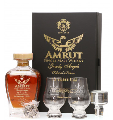 Amrut 12 Years Old Greedy Angels - LMDW 60th Anniversary