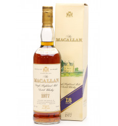 Macallan 18 Years Old 1977