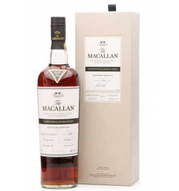 Macallan 2003 - 2017 Exceptional Single Cask No.3
