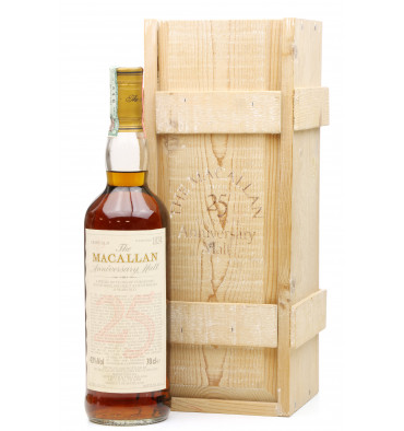 Macallan Over 25 Years Old 1971 - Anniversary Malt (Giovinetti & Figli)