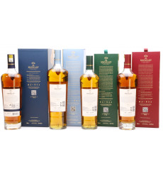 Macallan Enigma, Quest, Terra & Lumina - Quest Collection for Travel Retail