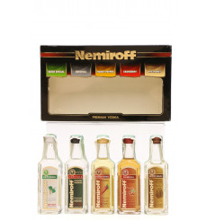 Nemiroff PRemium Vodka Miniature Set (5x5cl)
