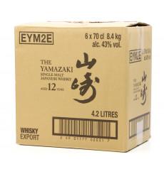 Yamazaki 12 Years Old Case (x6 70cl)
