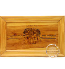 Cardhu Wooden Plaque & Glass Paperweight