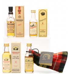 Assorted Miniatures x4 incl Knockando 1973 & Dalwhinnie 15 Years Old