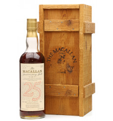 Macallan Over 25 Years Old 1957 - Anniversary Malt