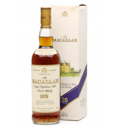 Macallan 18 Years Old 1978 (75cl)
