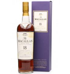 Macallan 18 Years Old 1986