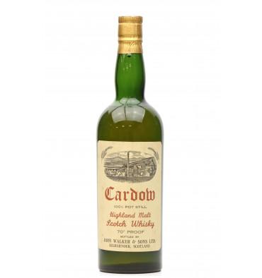 Cardow 100% Pot Still - John Walker & Sons 70° Proof