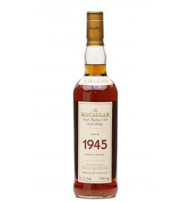 Macallan 56 Years Old 1945 - Fine & Rare Cask No. 262