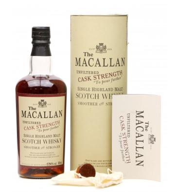 Macallan Cask Strength 1990 - Sherry Butt (50cl)