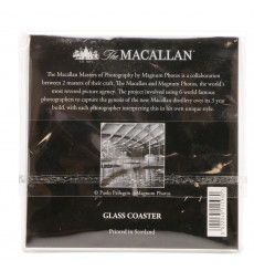 Macallan Glass Coaster - Paolo Pellegrin