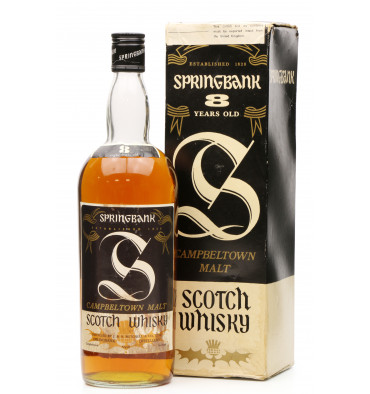 Springbank 8 Years Old 1970s (1Litre)