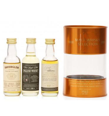 Malt Whisky Miniature Selection (3x5cl)