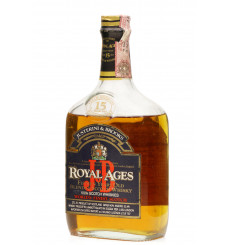 Royal Ages 15 Years Old - J&B (75cl)