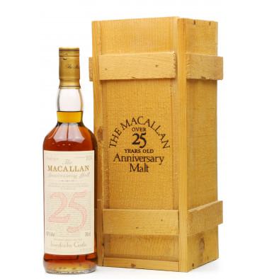 Macallan Over 25 Years Old 1968 - Anniversary Malt Inverlochy Castle