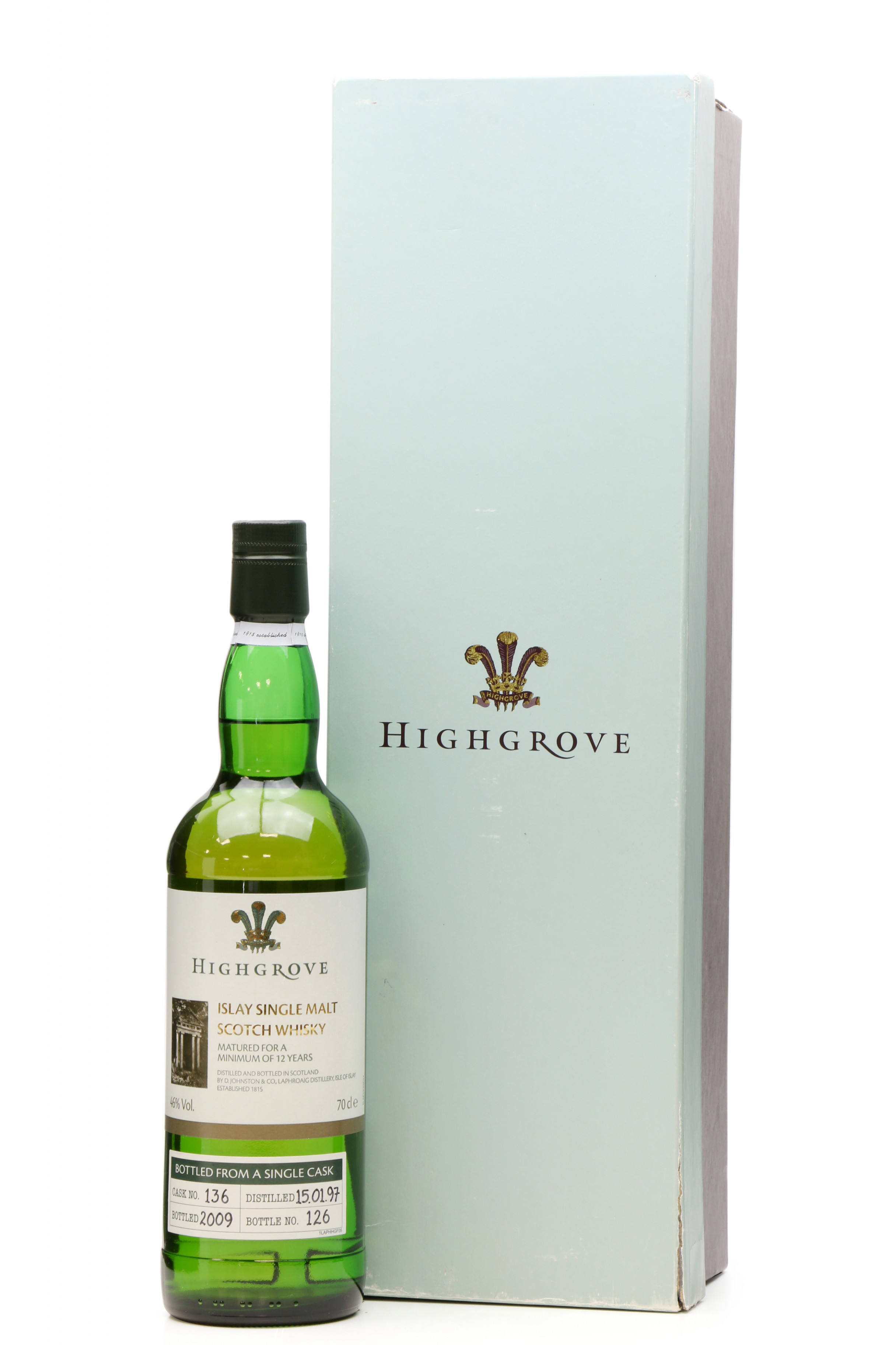 Laphroaig 12 Years Old 1997 - 2009 Highgrove Single Cask No