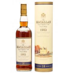 Macallan 18 Years Old 1982