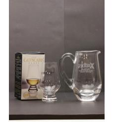 Ardbeg Heavyweight Glass Water Jug & Glencairn Nosing Glass