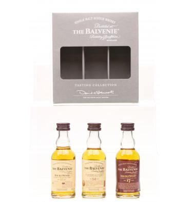 Balvenie Tasting Collection - Miniatures (3x5cl)