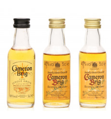 Cameron Brig Miniatures X3 - Edition 1, 2 & 3
