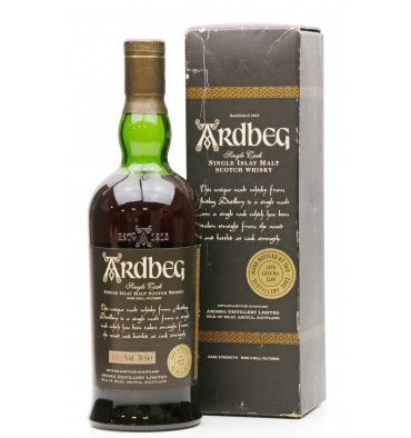 Ardbeg Single Cask 1976 - Cask No. 2390