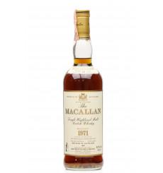 Macallan 18 Years Old 1971 - Giovinetti & Figli (75cl)