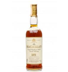 Macallan 18 Years Old 1972 - Giovinetti & Figli (75cl)