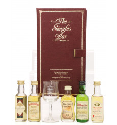 The Singles Bar Miniature Set - With Nosing Glass (5x5cl)