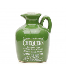 Chequers Super Deluxe Ceramic Miniature (70° Proof)