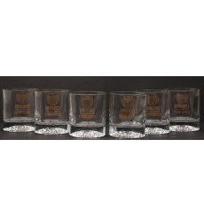 Chequers Tumblers X6