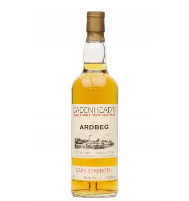 Ardbeg 1975 - Cadenhead's Cask Strength No. 77/74.1
