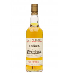 Ardbeg 1975 - Cadenhead's Cask Strength No. 77/74.1