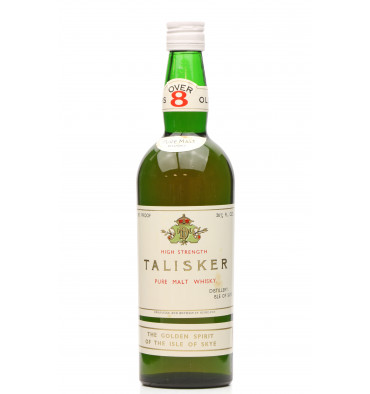 Talisker Over 8 Years Old - Pure Malt (1960's)