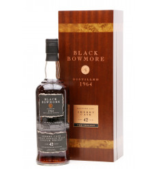 Bowmore 42 Years Old 1964 - Black Bowmore